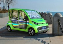 Chinese 4 Seater low-speed mini electric car LT-S4.HAF