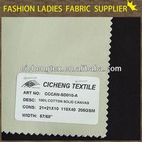 100% cotton heavy poplin cotton fabric cotton canvas fabric wholesale ducting canvas