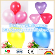 7inch round latex pearlized Latex Material and any occasion Festival balloons latex toy1g