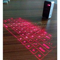 2014 Top sale Wireless Laser Keyboard for ipad iphone Infrared laser projection keyboard with mouse function
