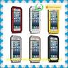 cheap wholesale waterproof gorilla glass aluminum metal case for iphone 6/6plus