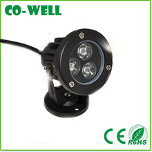 3W outdoor led spot,DC12V/AC85-265V,High Quality and High Lumens,IP65 led outdoor light
