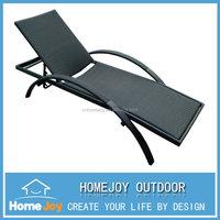 Fashionable design outdoor rattan sun lounger