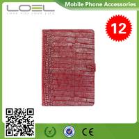 2015 new design flip croco pattern leather case for macbook air 11 13 inch B1(2)