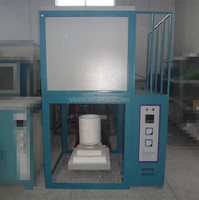 KSS-1600 Electric Melting Frit Furnace for Glass/ Metal/ Gold with 20L Capacity Crucible