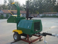 CE approved 50HP Diesel Engine wood chipper