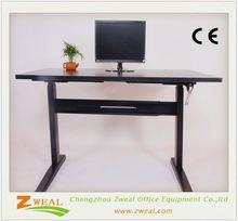 china morden adjustable height office desk wooden furniture frames