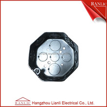 Galvanized conduit electric meter box cover