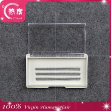 Hot hair professional false eyelash wholesale with custom top grade eyelash magnetic packaging box