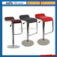 Y 730 PU PVC Leather Bar Stool Kitchen Chair Gas Lift Swivel Luxury Chair