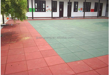 recycled rubber tile,Interlocking rubber tiles,Colorful rubber paver