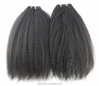 "Top Quality 6A Peruvian Virgin Hair Straight Coarse Yaki Hair Weaves Italian Yaki 10""-30"" Kinky Straight Aliexpress Hair"