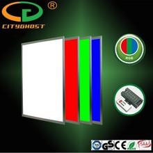 DMX512 System Compatible 50000 Hours Lifespan 24V DC LED Lighting RGB Panel 600x600 32W