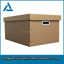 color printed corrugated paper packing solutions