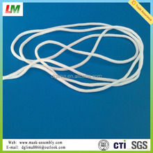2.8mm round elastic ear loop for disposable face mask
