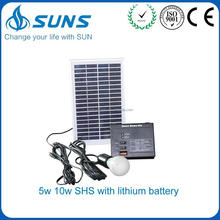 China supplier buy solar panel system for home with lithium battery