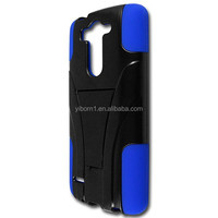 High Quatily Hybrid Heavy Duty Shockproof Soft Silicone + PC combo case for LG G3 mini, many color for you choice