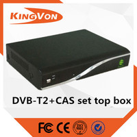 dvb-t2 t2 decoder hot sale in indonesia with free samples to test matched kingvon's CAS