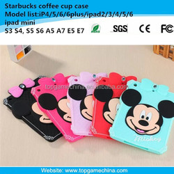 7 inch tablet case for ipad mini mickey minnie mouse case with diamond