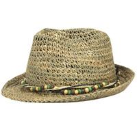 Custom Made Seagrass Straw Fedora Hat 2016