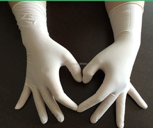 CE FDA latex glove long cuff, examination latex gloves, dental latex gloves