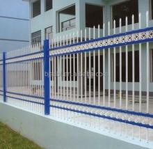 galvanized steel tube fence for garden/school/home/villa,galvanized steel pipe fence
