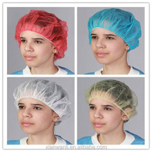 Suit any hair style mushroom cap/disposable non-woven round cap