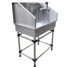 2015 Small Dog Pet Bathing stainless steel bath tub from Reliable Pet SuppliersH-905