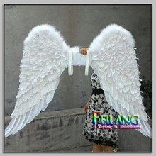 New Design Night Stage Decoration White Wing