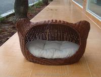 Hot Sale Resin Wicker Pet Bed Cat Bed Basket