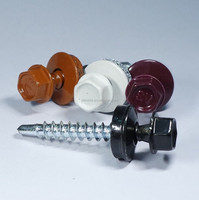 Head Indented Hex Washer Head Bonded Washer No.1 Reduce Point Painted Head Roofing Screw