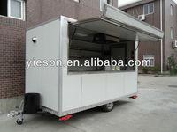 Kiosk fast food/Fast food kiosk bar/hot dog cart/Mobile food house YS-FV350