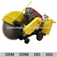 """16""""cut 40"""" blade diesel concrete cut off saw for sale with water tank"""