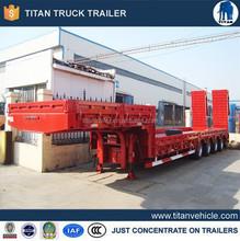 Titan factory 100 tons low loader trailer, 100-ton lowboy trailer, 100 ton lowboy trailer