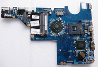 Best quality original CQ62 G62 series 605140-001 laptop motherboard Integrated DDR2