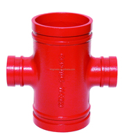 """Ductile Iron Pipe coupling ,4""""*1""""--6""""*3"""" Thread Reducing cross/pipe coupling joint /fire coupling"""