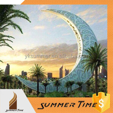 famous Arabia large outdoor month sculpture