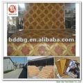 pisodeplástico y tipo de material de pvc haga clic en sistema de vinilo plank flooring