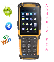 rugged portable touch screen pda android phone TS-901 with barcode scanner