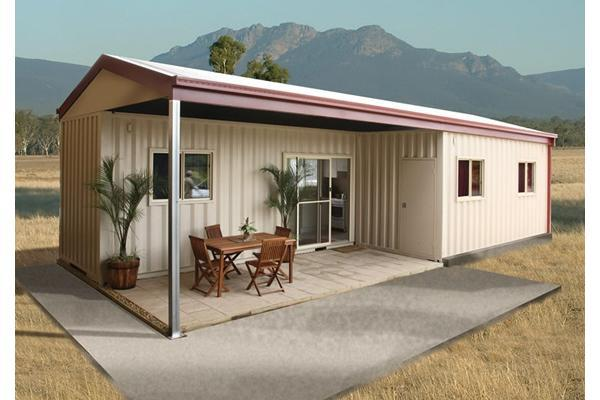 Insulated prefab modular container van style house office view prefab house lida product - Container van homes ...