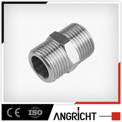 B401- Brass pneumatic male transition thread air hose fitting connector