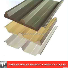 New most popular galvanized foam steel sheet folded