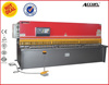 2014 hot sale sliding table saw for guillotine manual cutter for sheet manual slitting machine