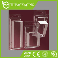 Hot sale clear pvc plastic blister box packaging clamshell box