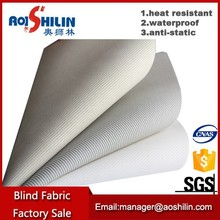 Pvc coated waterproof roller blind and window curtain