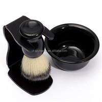 1PCS/LOT Wholesale Mens Shaving Tool Set Best Badger Bristle Hair Shaving Brush Bowl Mug Drip Stand ABS Bowl