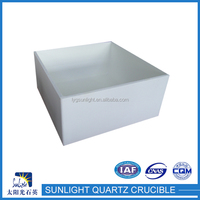 Hot china products wholesale quartz crucible for melting platinum