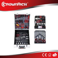 188pcs Alumnium case tool trolley with hand tools