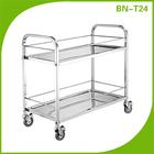 Bn-t24 açoinoxidável 304instrumento carro para hospital
