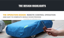 Hot selling best price custom logo print SUV car cover